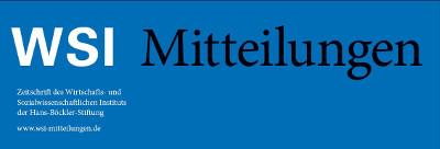 70 Jahre WSI-Mitteilungen