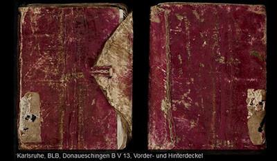 Sensationsfund: Entdeckung der ältesten Papierhandschrift in vollständig deutscher Sprache  in der Badischen Landesbibliothek