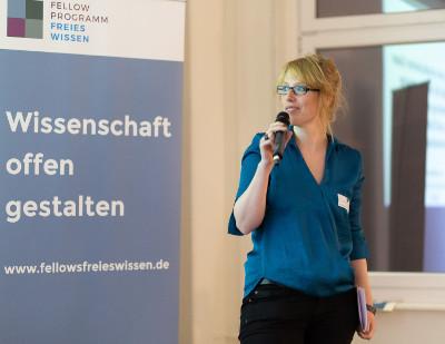 """Fellow-Programm """"Freies Wissen"""" fördert ZB MED-Wissenschaftlerin – Stärkung der Idee von Offener Wissenschaft"""