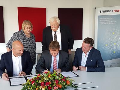 Projekt DEAL und Springer Nature vereinbaren Rahmen  für weltweit umfangreichsten Open Access-Transformationsvertrag