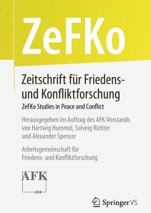Zeitschrift für Friedens- und Konfliktforschung (ZeFKo) erscheint jetzt bei Springer VS