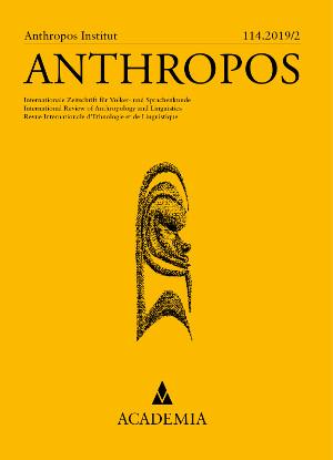 Academia Zeitschrift ANTHROPOS erscheint im 115. Jahrgang