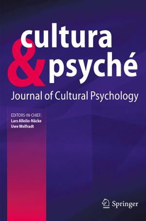 Neue Springer Fachzeitschrift cultura & psyché – Journal of Cultural Psychology