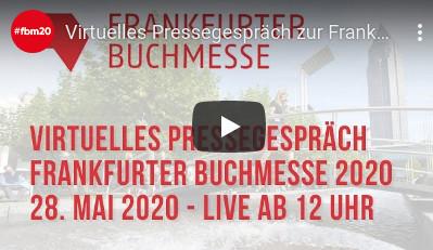 Wichtiges Signal für Buch und Gesellschaft – Börsenverein begrüßt Stattfinden der Frankfurter Buchmesse 2020