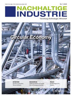 Springer Fachmedien bringt neue Zeitschrift Nachhaltige Industrie heraus
