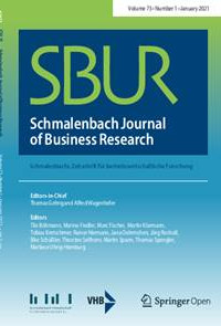 Anerkannte BWL-Zeitschriften schließen sich zu dem internationalen Schmalenbach Journal of Business Research (SBUR) zusammen