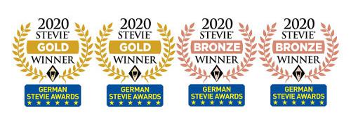 Wolters Kluwer Deutschland gewinnt vier Stevie Awards: für neue Expertenlösungen und digitale Transformation